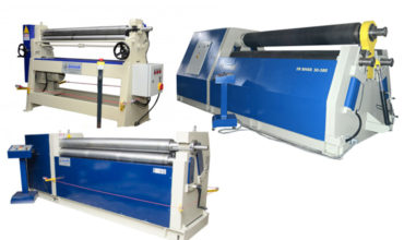 3 ROLL PLATE BENDING MACHINES