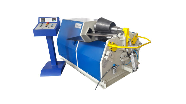 4 ROLL CONICAL PLATE BENDING MACHINE