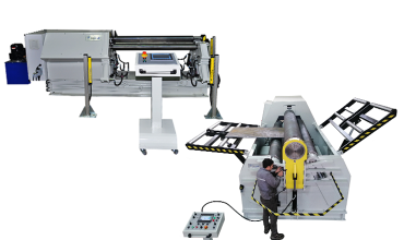 4 ROLL PLATE BENDING MACHINES