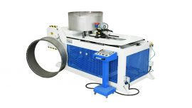 AUTOMATIC FLANGE FORMING MACHINE w/PUNCHING SYSTEM