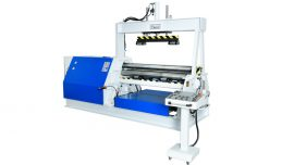 SPECIALLY DESIGNED 4 ROLL PLATE BENDING MACHINE WITH SUPPORT SYSTEMS
